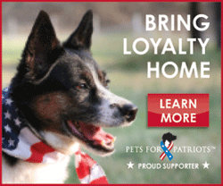 Proud Supporter of Pets for Patroits